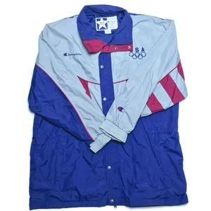 💥HP💥Vintage Champion 1994 Winter Olympics jacket